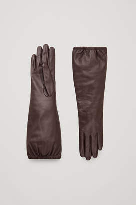 Cos LONG LEATHER GLOVES
