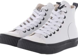 McQ Swallow Plimsoll Hi-top Sneakers