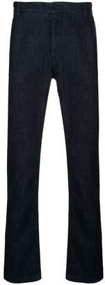Cerruti denim chino trousers
