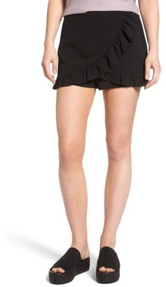 Women's Mimi Chica Ruffle Skort $35 thestylecure.com