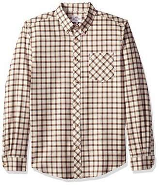 Ben Sherman Men's Reverse Twill Check Shirt