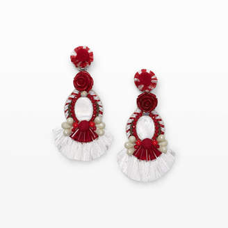 Ranjana Khan Rose Earring