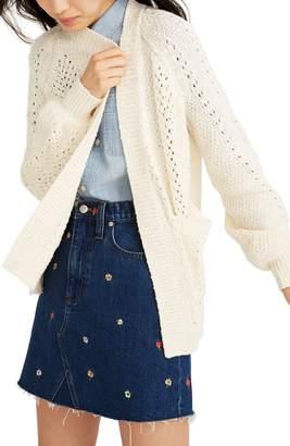 Madewell Sunnyvale Cardigan Sweater