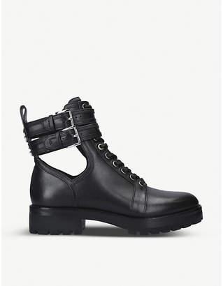 MICHAEL Michael Kors Bensen cut-out detail leather boots
