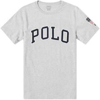 Polo Ralph Lauren USA Logo Crew Tee