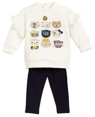 Mayoral Kittens leggings set