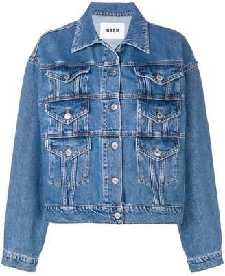 MSGM oversized fit jacket