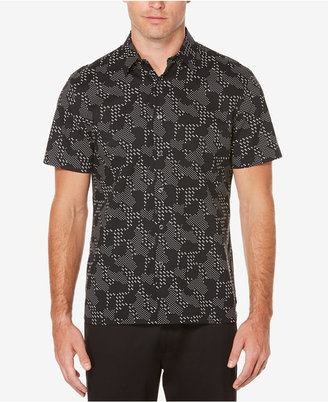 Perry Ellis Men's Big & Tall Digital Camo Shirt $75 thestylecure.com