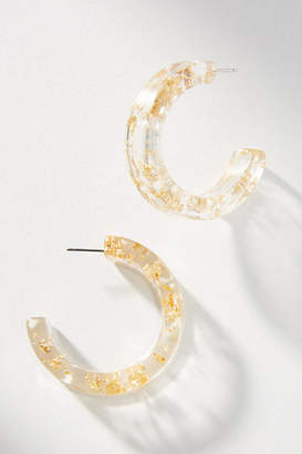 Amber Sceats Faro Resin Hoop Earrings