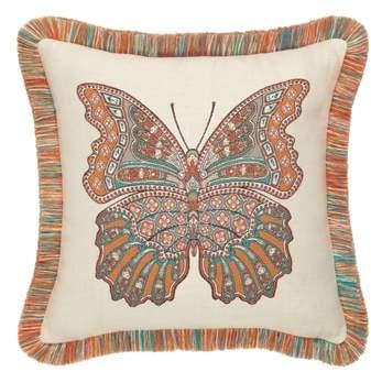 Mariposa Lagoon Indoor/Outdoor Accent Pillow