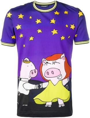 Dolce & Gabbana La La Pigs T-shirt