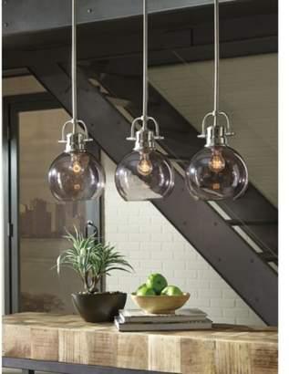 Brayden Studio Burner 3-Light Kitchen Island Pendant