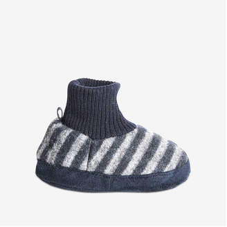 Joe Fresh Toddler Boys' Sock Slippers, Navy (Size L)