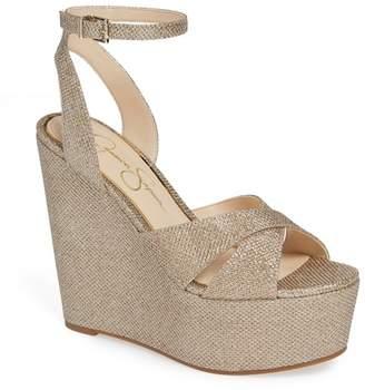 Jessica Simpson Prena Platform Wedge Sandal (Women)