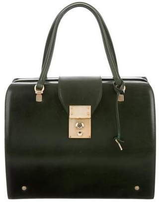 Thom Browne Mrs. Doctor Leather Bag