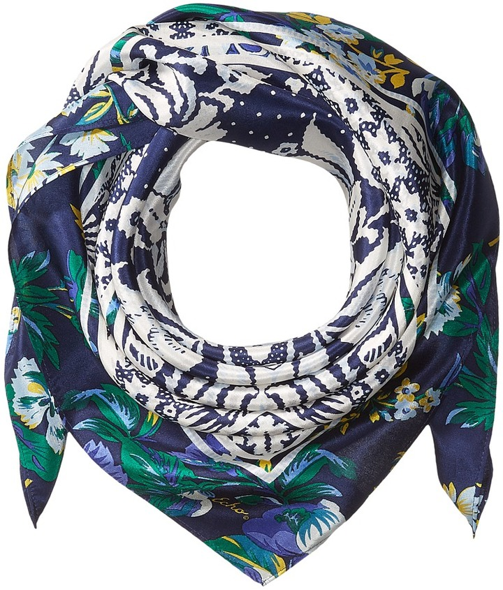 Echo Design - Covent Garden Silk Square Scarf Scarves