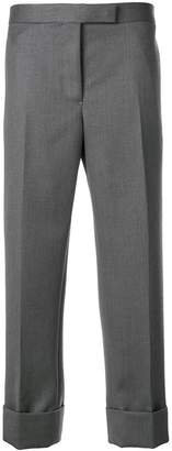 Thom Browne Classic Backstrap Trouser In Cavalry Twill