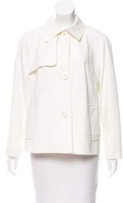 Akris Punto Collared Button-Up Jacket