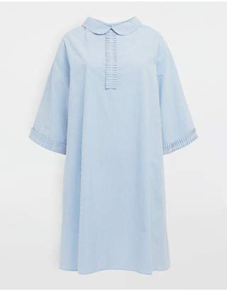 Maison Margiela School Uniform Midi Shirt Dress