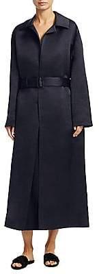 The Row Women's Silk Luster Coat