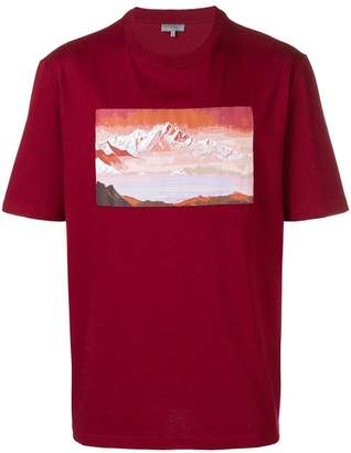 Lanvin mountain print T-shirt