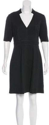 Trina Turk V-Neck Knee-Length Dress