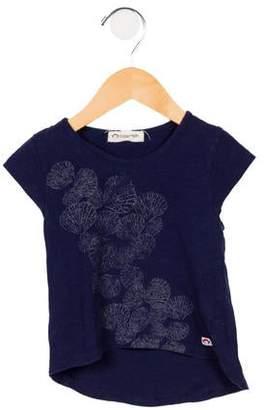 Appaman Fine Tailoring Girls' Printed Short Sleeve T-Shirt