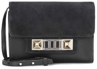 Proenza Schouler PS11 leather and suede shoulder bag