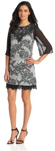 Jax Women's Elbow-Sleeve Lace Dress