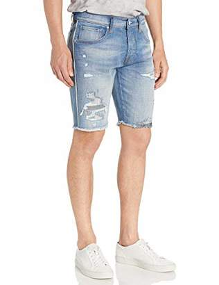 Hudson Jeans Men's Cut Off Denim Short Denim