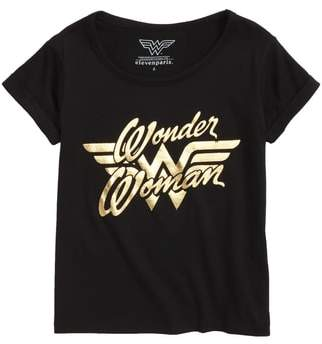 Little Eleven Paris Little ELEVENPARIS Wonder Woman Graphic Tee