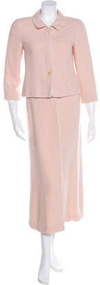 Chanel Wool Midi Skirt Suit