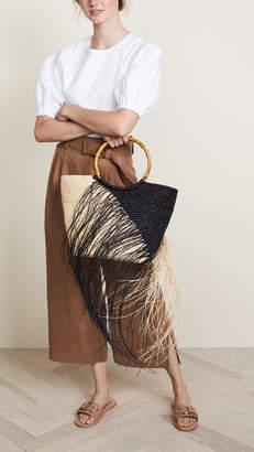 Sensi Studio Maxi Frayed Tote Bag