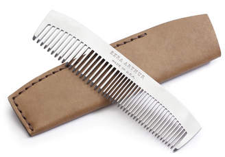 Ezra Arthur No. 1827 Pocket Comb with Leather Sleeve