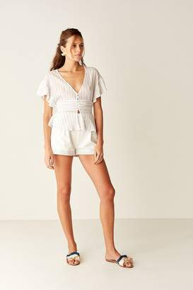Suboo High Waisted Short - White