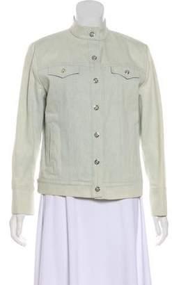 St. John Sport Casual Denim Jacket