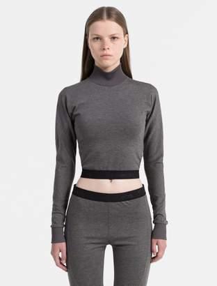 Calvin Klein turtleneck cropped top