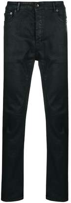 Rick Owens shine effect jeans