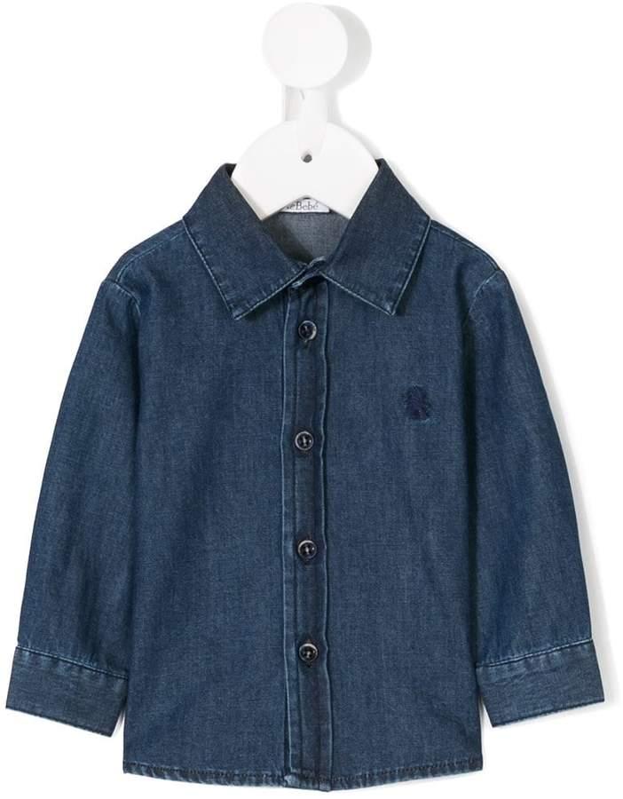 Le Bebé Enfant denim shirt