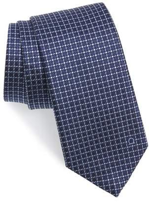 Salvatore Ferragamo Grid Silk Tie