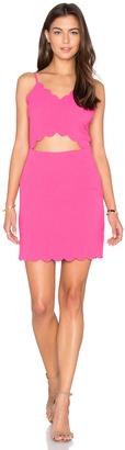 J.O.A. Front Cutout Bodycon Mini Dress $75 thestylecure.com