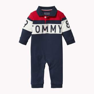 Tommy Hilfiger TH Baby Signature Coverall