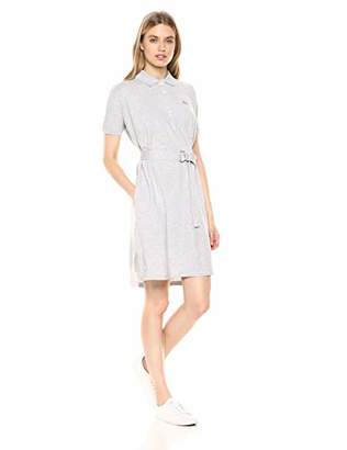 Lacoste Women's Relaxed FIT Classic Polo Dress