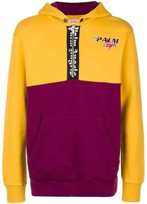 Palm Angels half zip hoodie