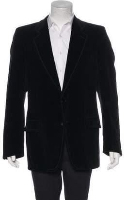 Saint Laurent Velvet Silk-Lined Sport Coat