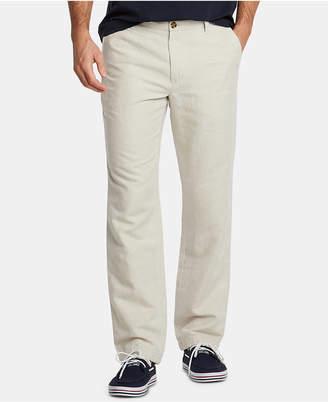 Nautica Men Classic-Fit Linen-Blend Pants