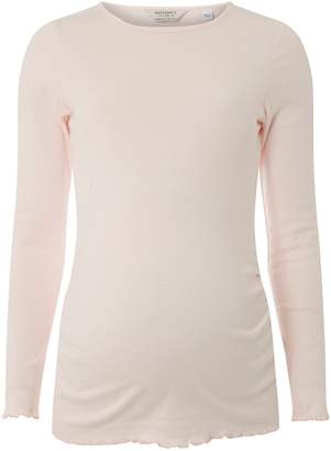 Dorothy Perkins Womens **Maternity Blush Long Sleeve Top