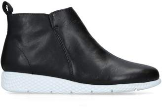 Carvela Leather Cooper Ankle Boots