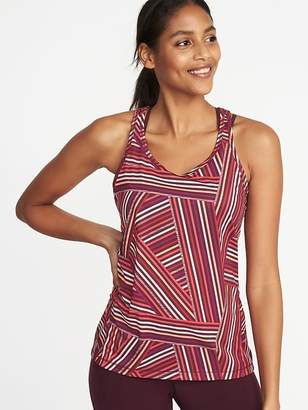 Old Navy Semi-Fitted Racerback Performance Tank for Women