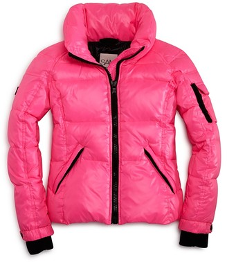 SAM. Girls' Freestyle Down Jacket - Sizes 2-6 $195 thestylecure.com
